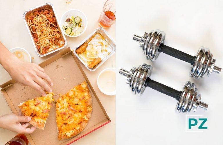 Compensar la comida calórica con deporte no es la mejor estrategia.